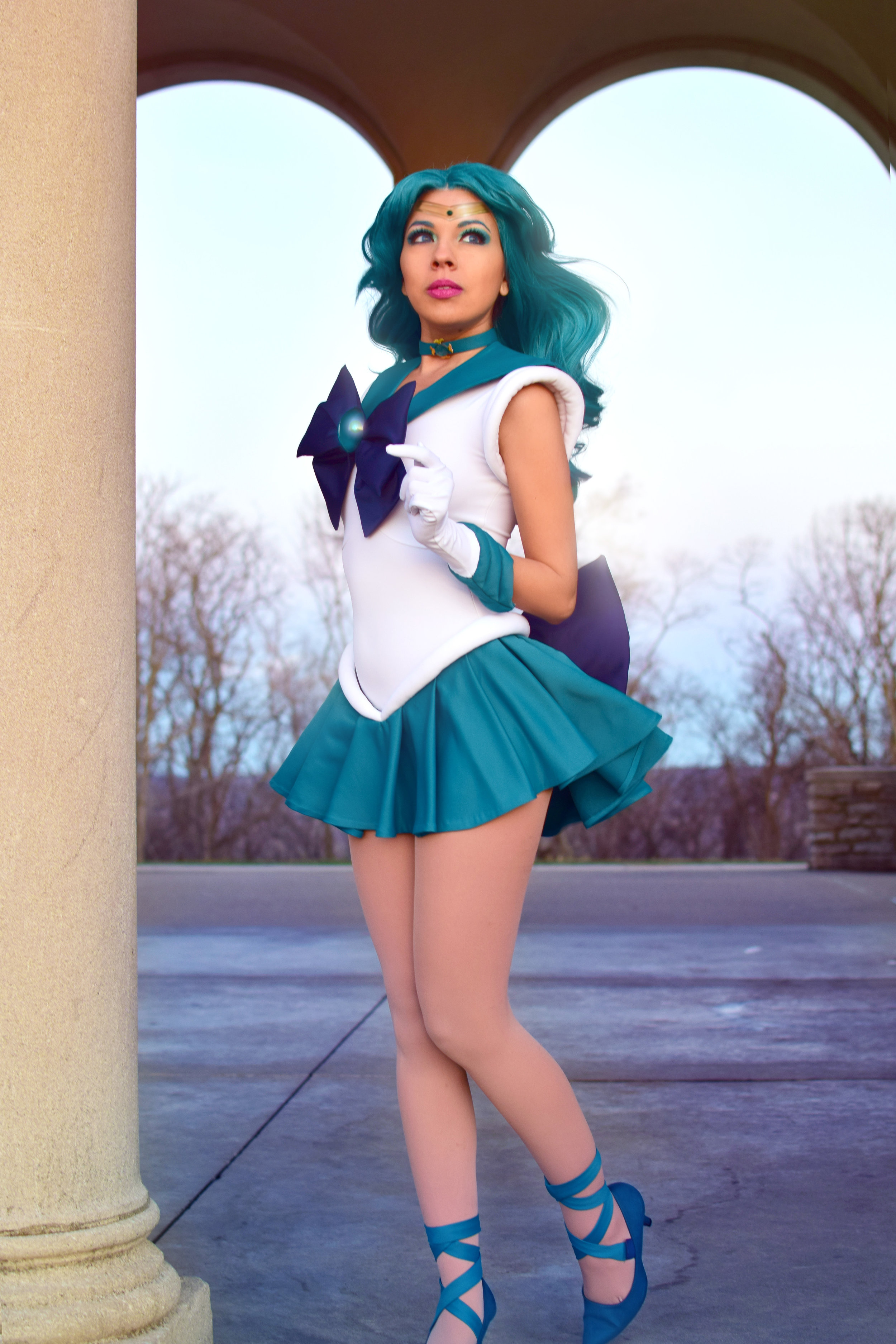 Sailor Neptune:  Momokurumi  Photo: Koji
