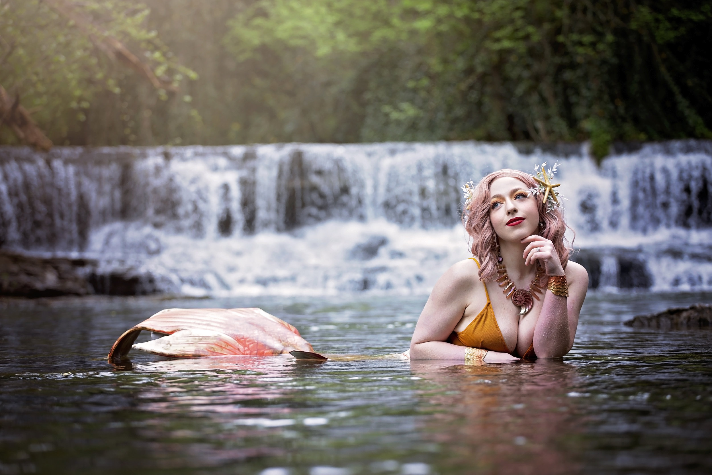 Mermaid : Ms.Faelyn  Photo: Cubster Cosplay Photography