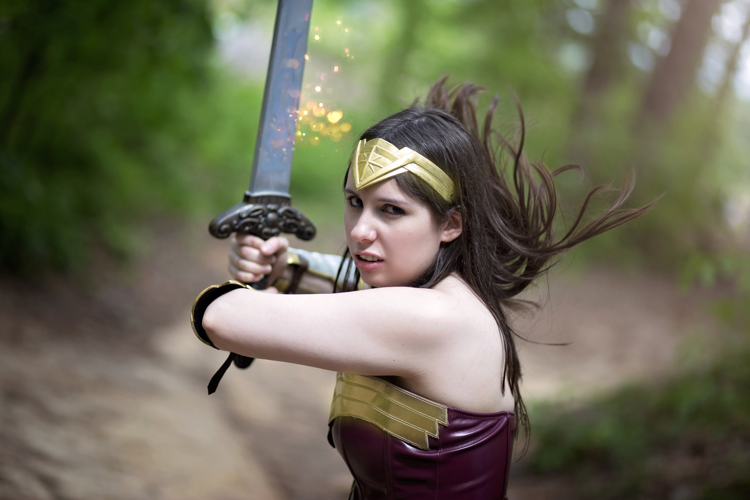 Wonder Woman : Kitten Mcsquish Cosplay   Photo: Cubster Cosplay Photography