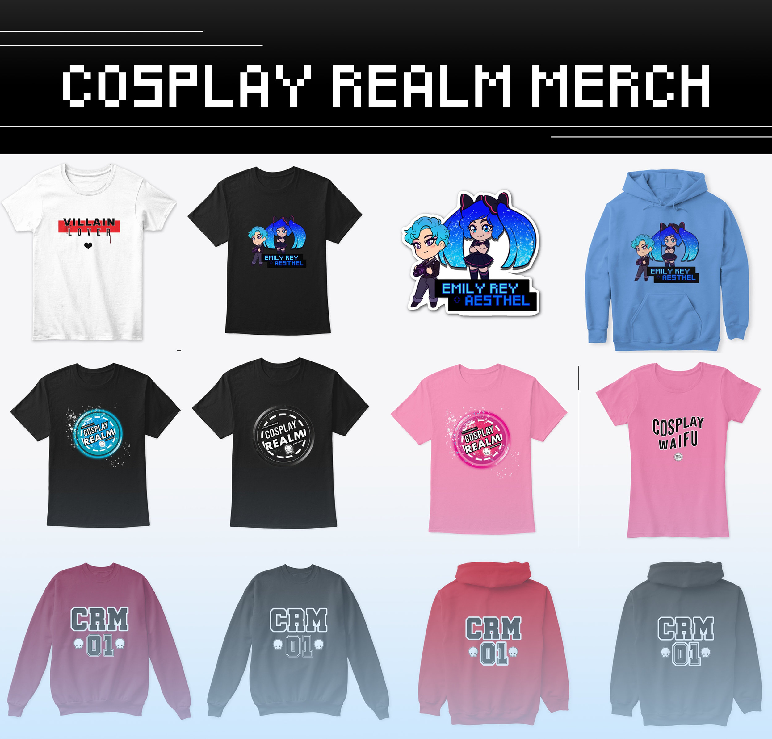 Cosplay Realm Merch -