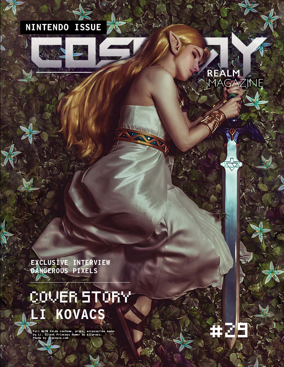 Cosplay Realm Magazine No.29 - The Nintendo Issue