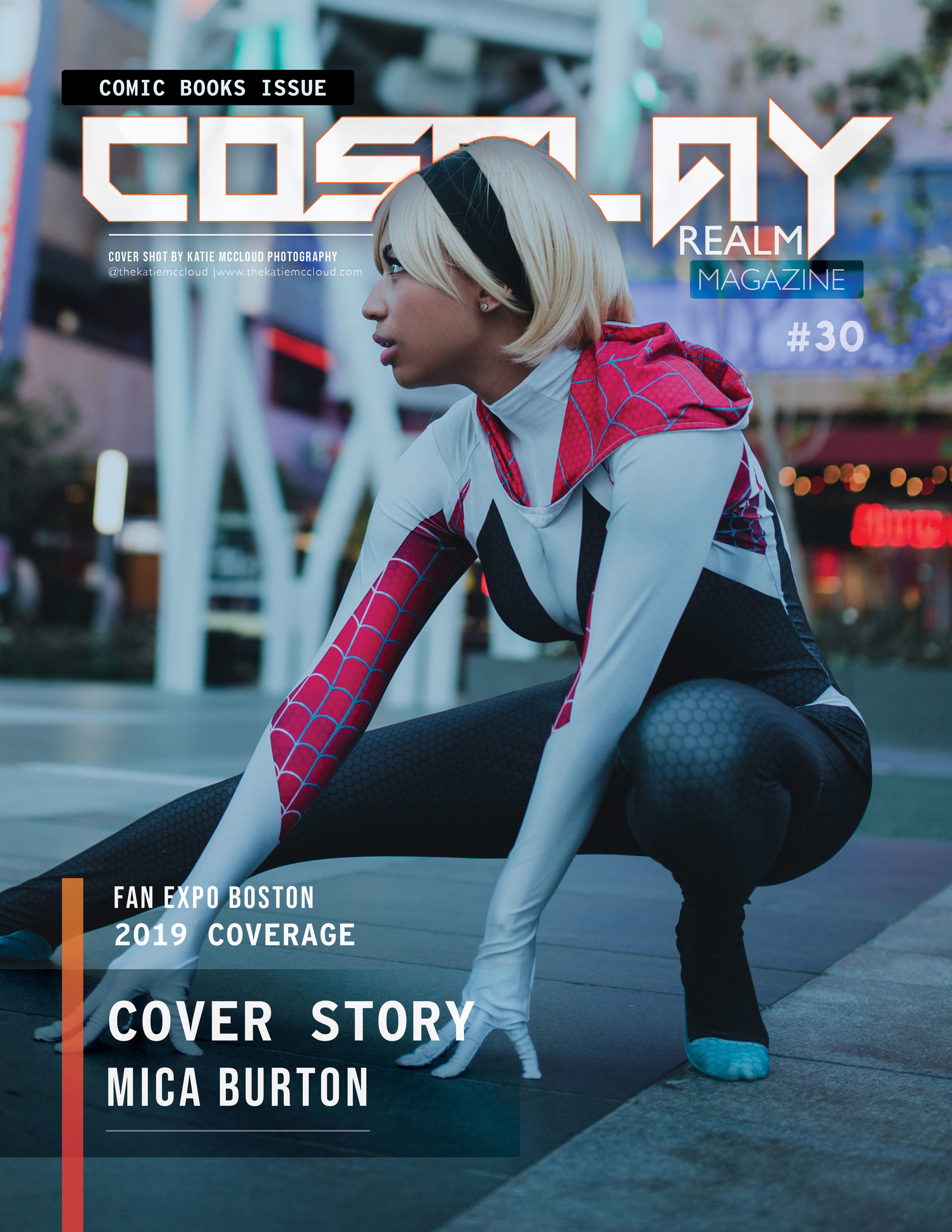 Cover Story: Mica Burton - COMIC BOOKS ISSUE