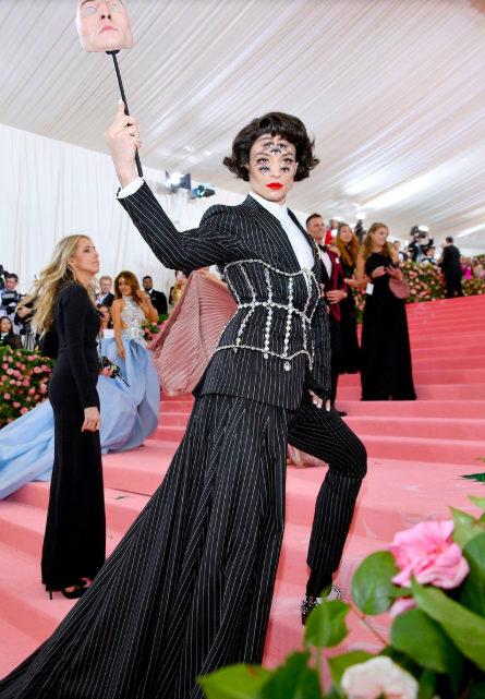 Ezra Miller in Burberry, image from Vogue.com