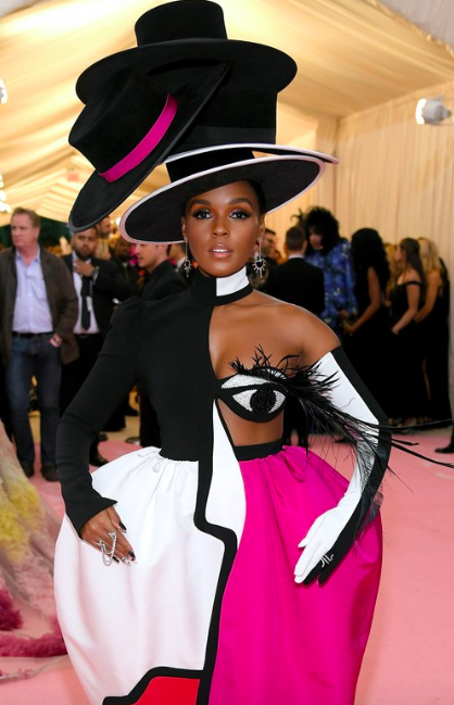 Janelle Monae Met Gala 2019, photo from TeenVogue.com