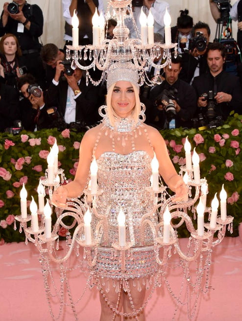 Katy Perry Met Gala 2019, Photo from Teenvogue.com