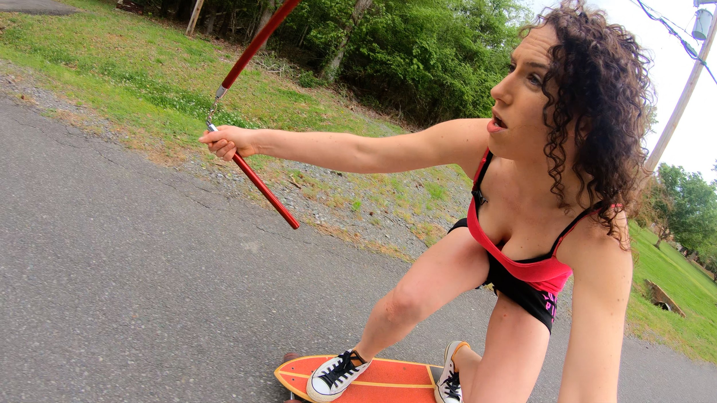 STUNTGIRL - Reality Comedy Action Show - Filmed in 4K / 60fpsVibrant ColorsUnconventional AnglesAll to make the viewer feel they are right there9 Episodes Filmed - Entire 1st Season *Also formatted for 4K / 30fps and 1080p / 30fpsCURRENTLY SEEKING DISTRIBUTION