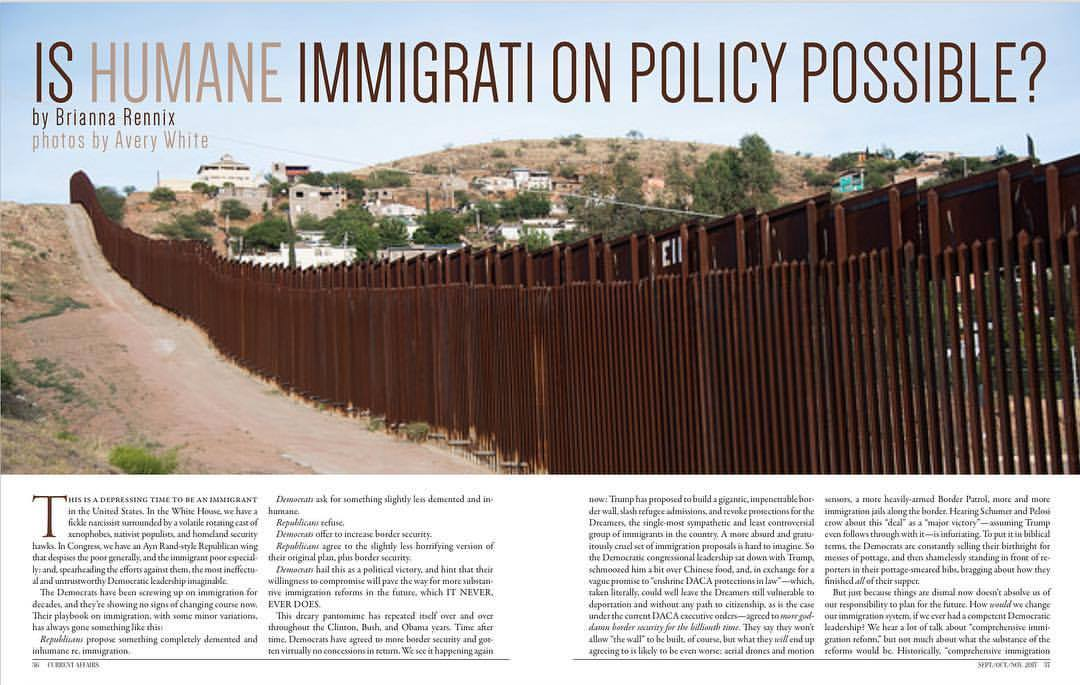 Is Humane Immigration Policy Possible?