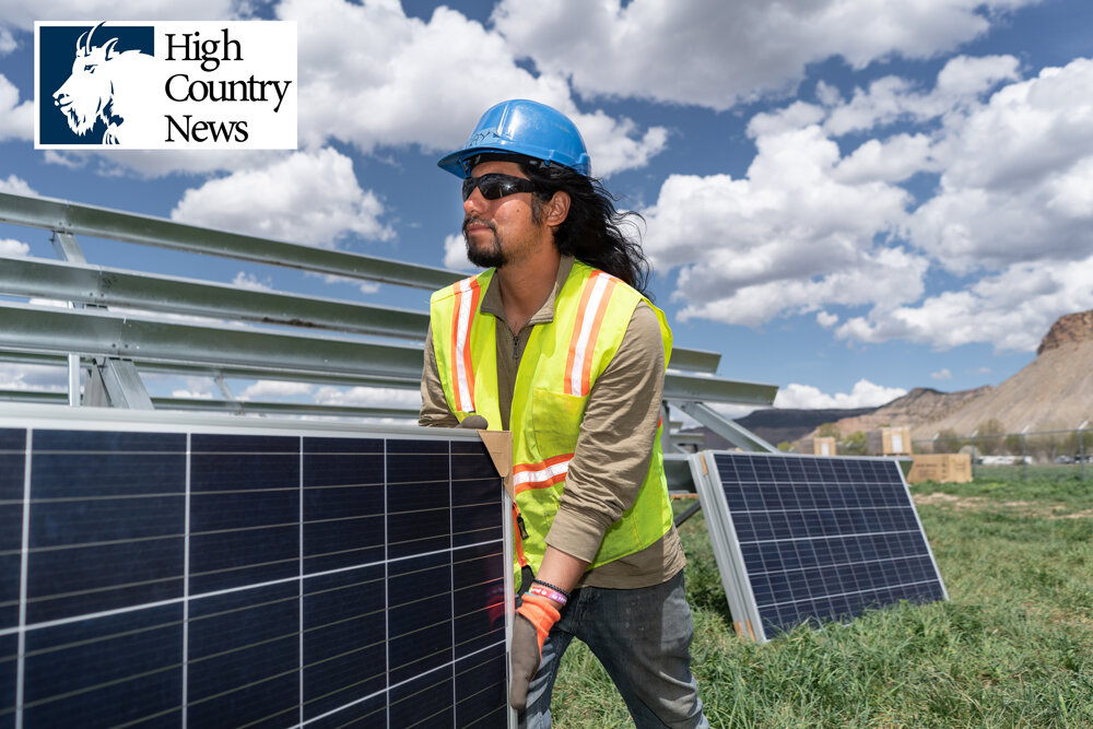 THE UTE MOUNTAIN UTE TRIBE GOES SOLAR: AN IMAGE OF ENERGY SOVEREIGNTY IN COLORADO'S HIGH DESERT