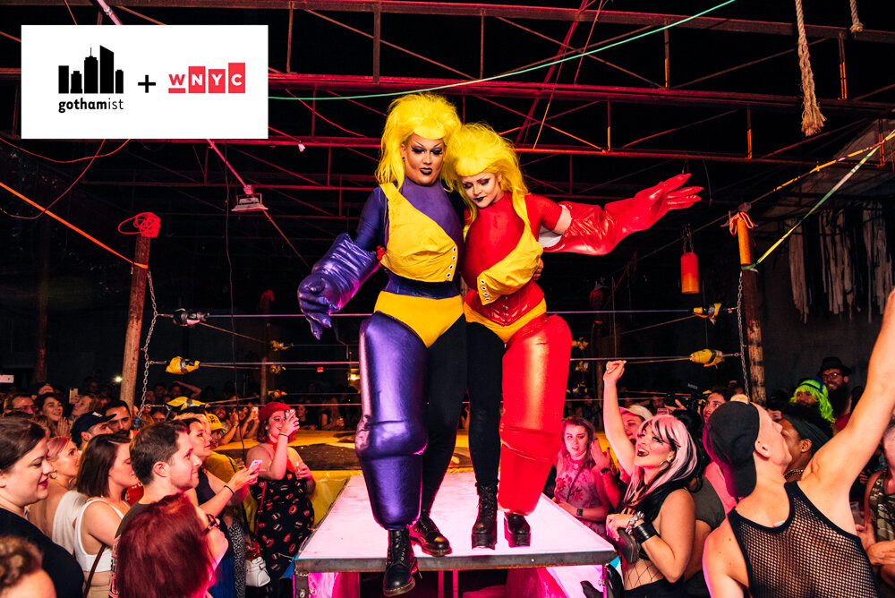 INSIDE CHOKEHOLE: A SPECTACULAR DRAG WRESTLING MATCH IN QUEENS, NEW YORK
