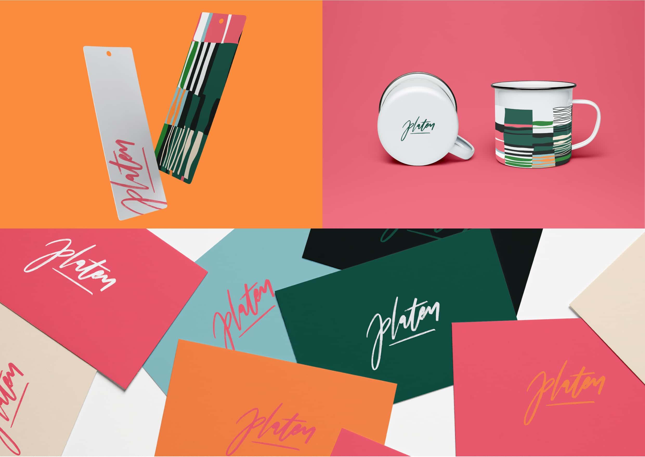 Platen Magazine Branding