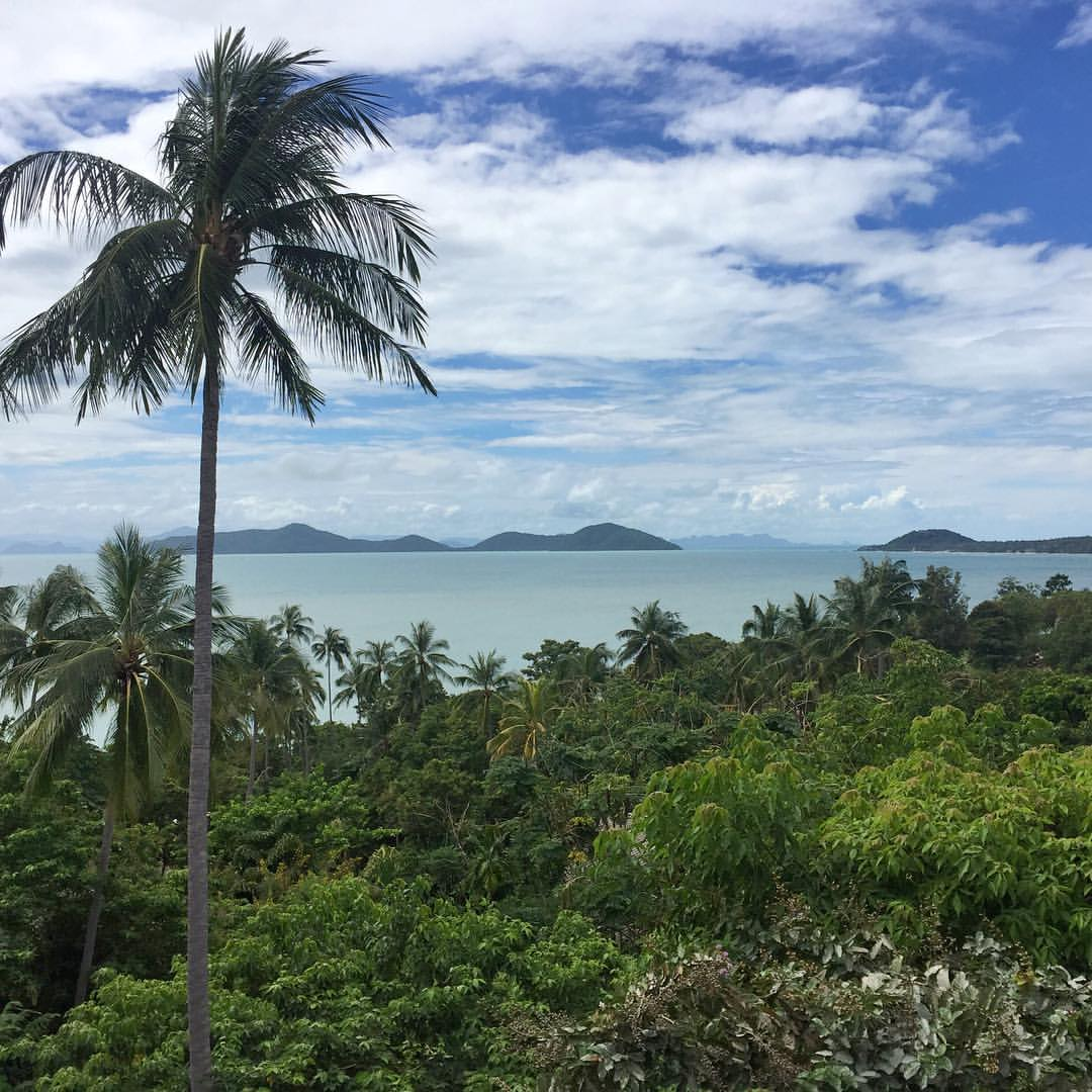 Missing the beautiful scenery from my balcony at Kamalaya Koh Samui, Thailand.
