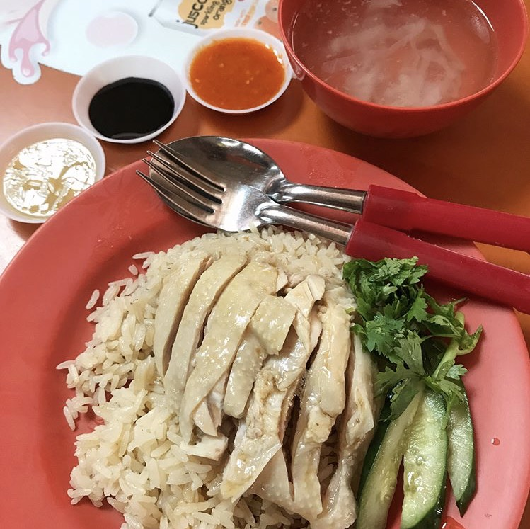 Chicken Rice from Maxwell Hainanese Chicken Rice