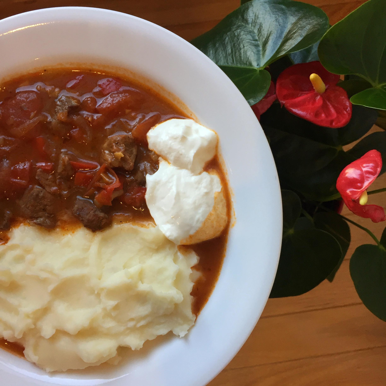 Homemade Hungarian Goulash