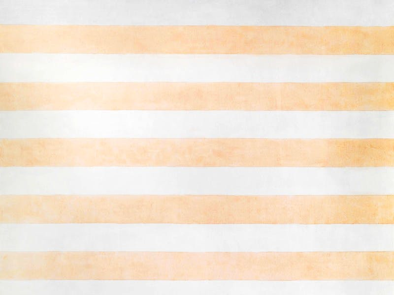 Agnes Martin,  Happy Holiday   1999, Acrylic and graphite on canvas, 152.5 x 152.5 cm