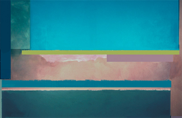 Virginia Cuppaidge,  Bellegreen , 1972, Acrylic on canvas, 220 x 305 cm