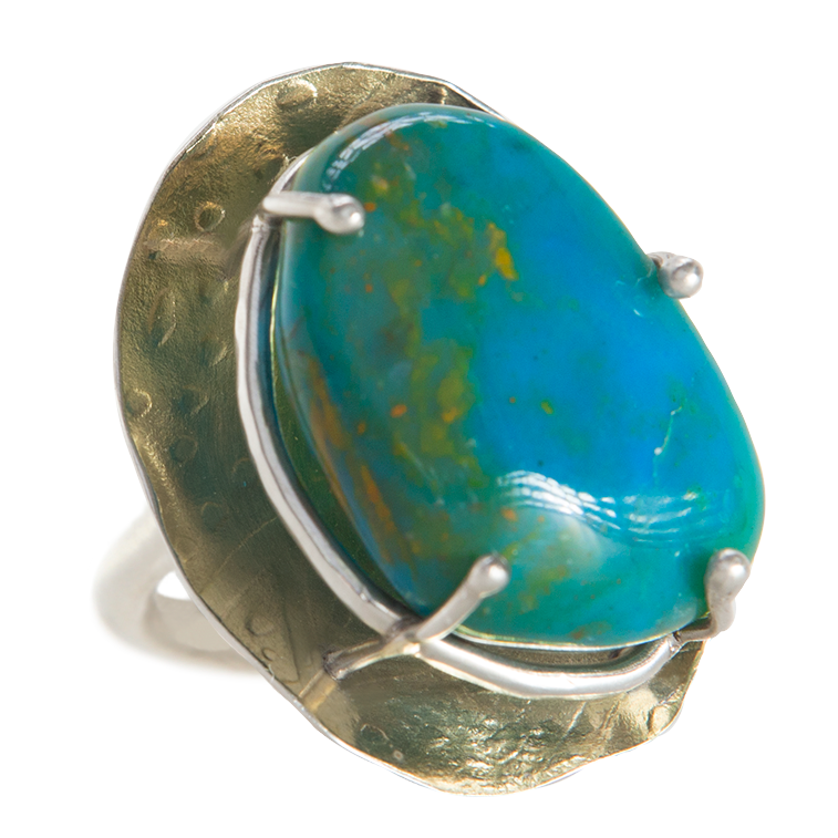 Peruvian Opal Elevated Prong Ring - 13.png