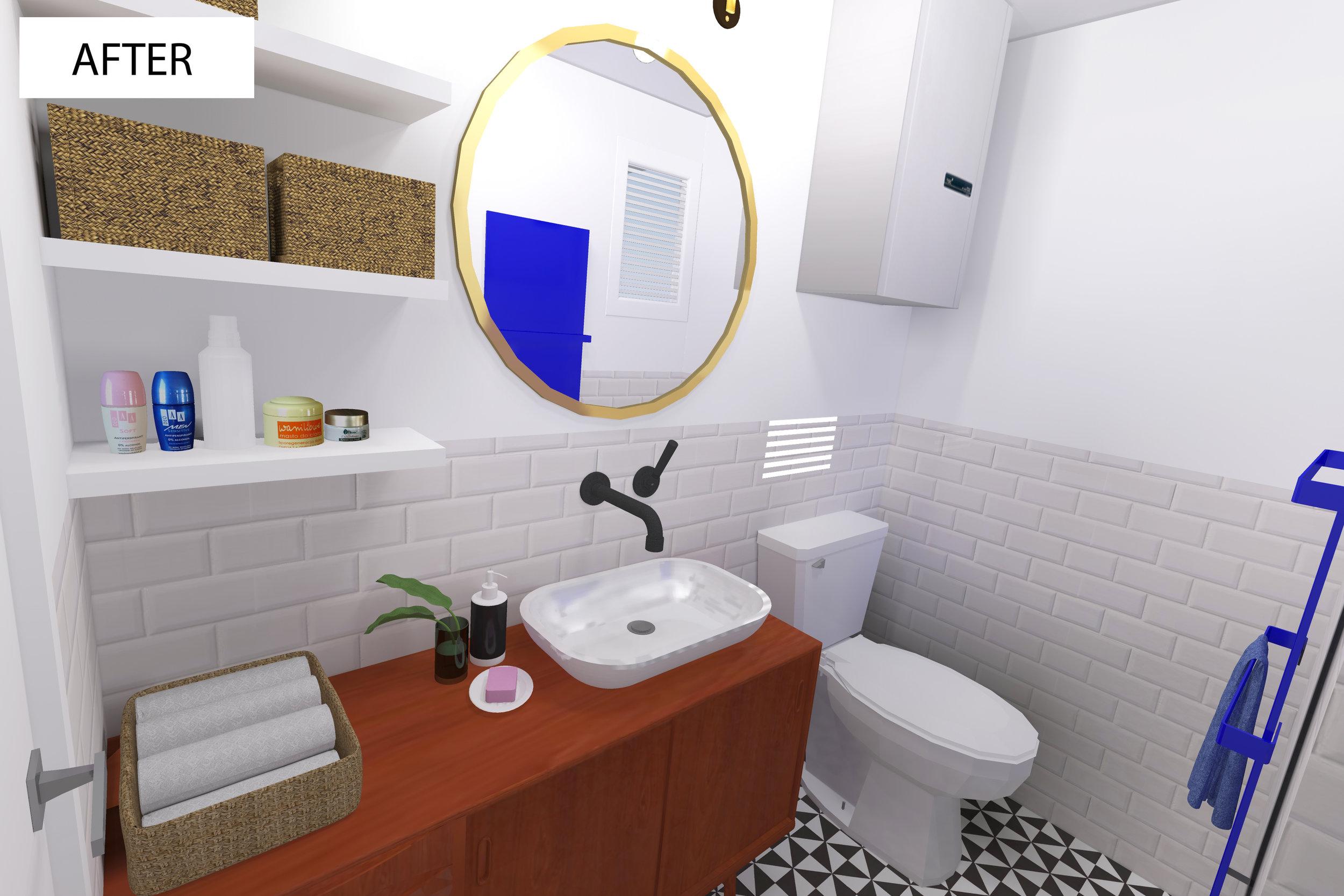 Prenova kopalnica - notranje oblikovanje
