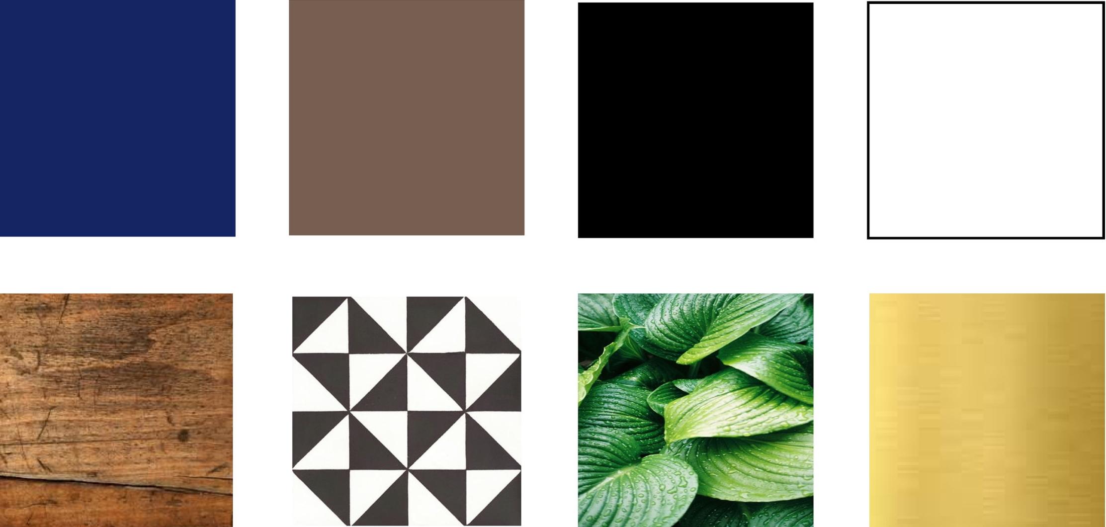 barve in materiali, notranje oblikovanje -  POKE Studio