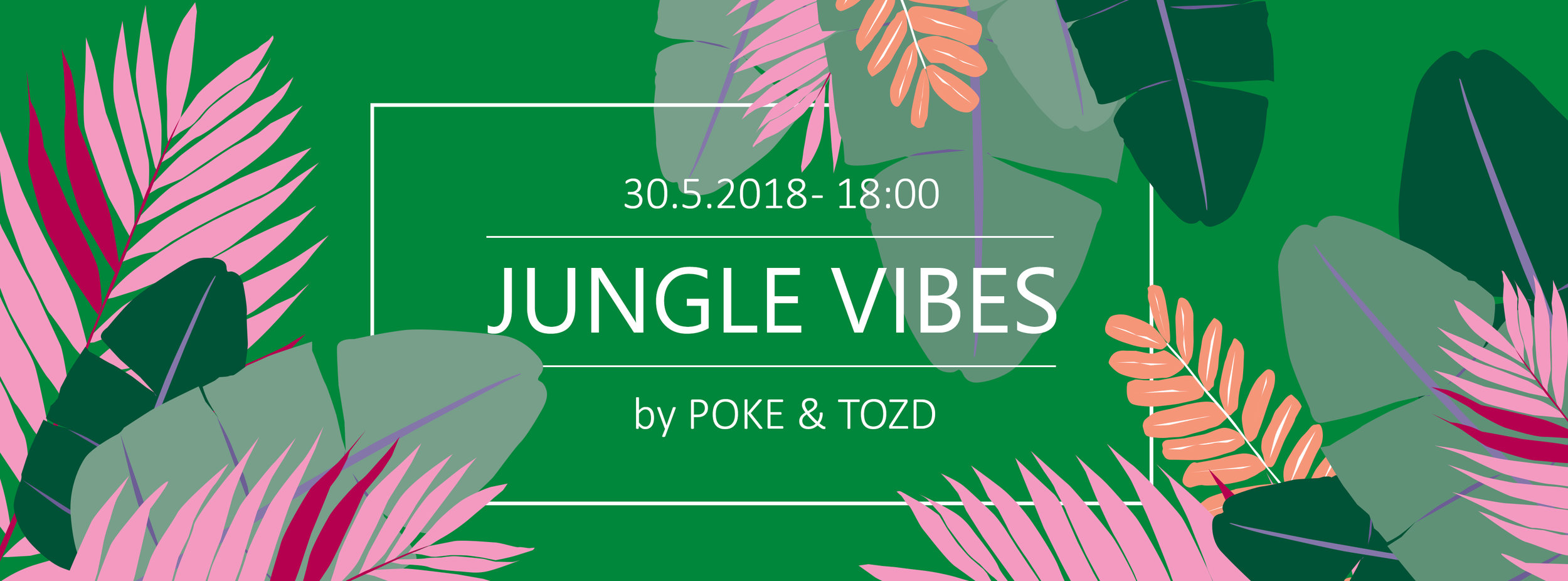 projekt poke studio_jungle vibes_grafična podoba