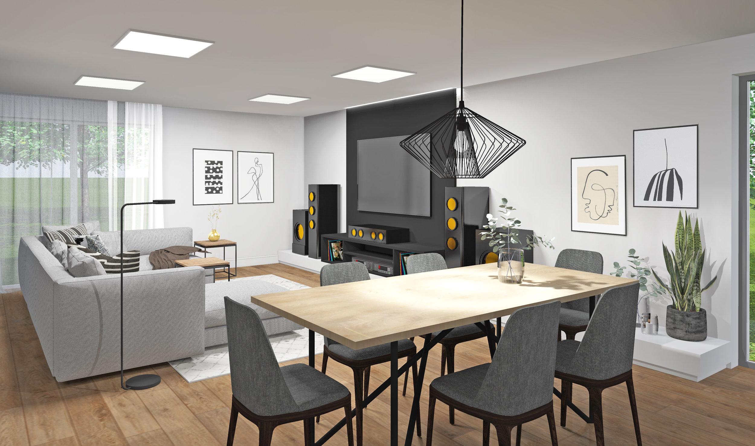 projekt poke studio_hiša pohorje_dnevna soba