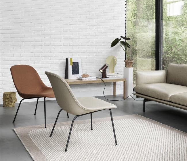 01. MUUTO - Fiber Lounge chair