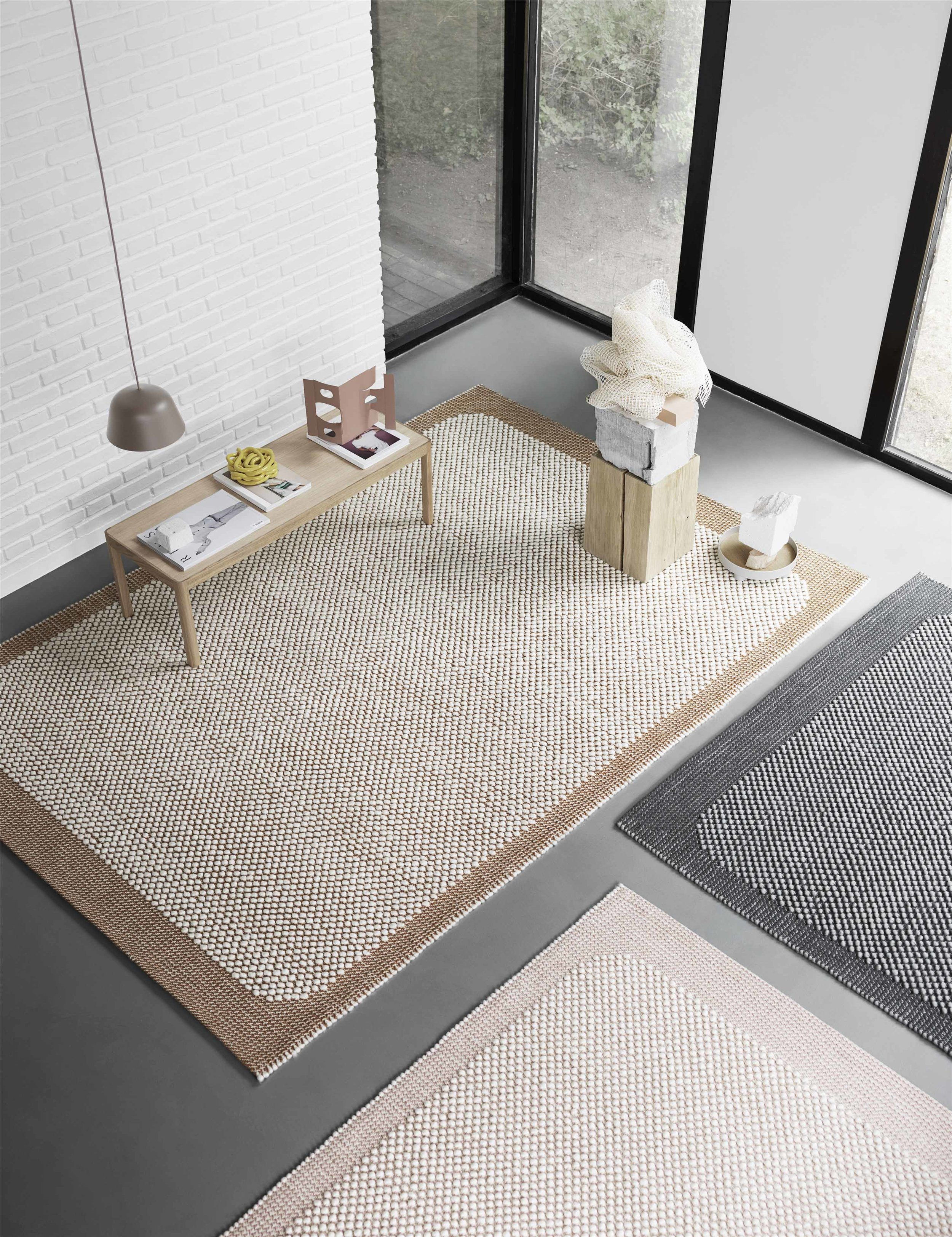 02.  MUUTO  -  PEBBLE RUG , dimensions 170x240cm or 200x300cm