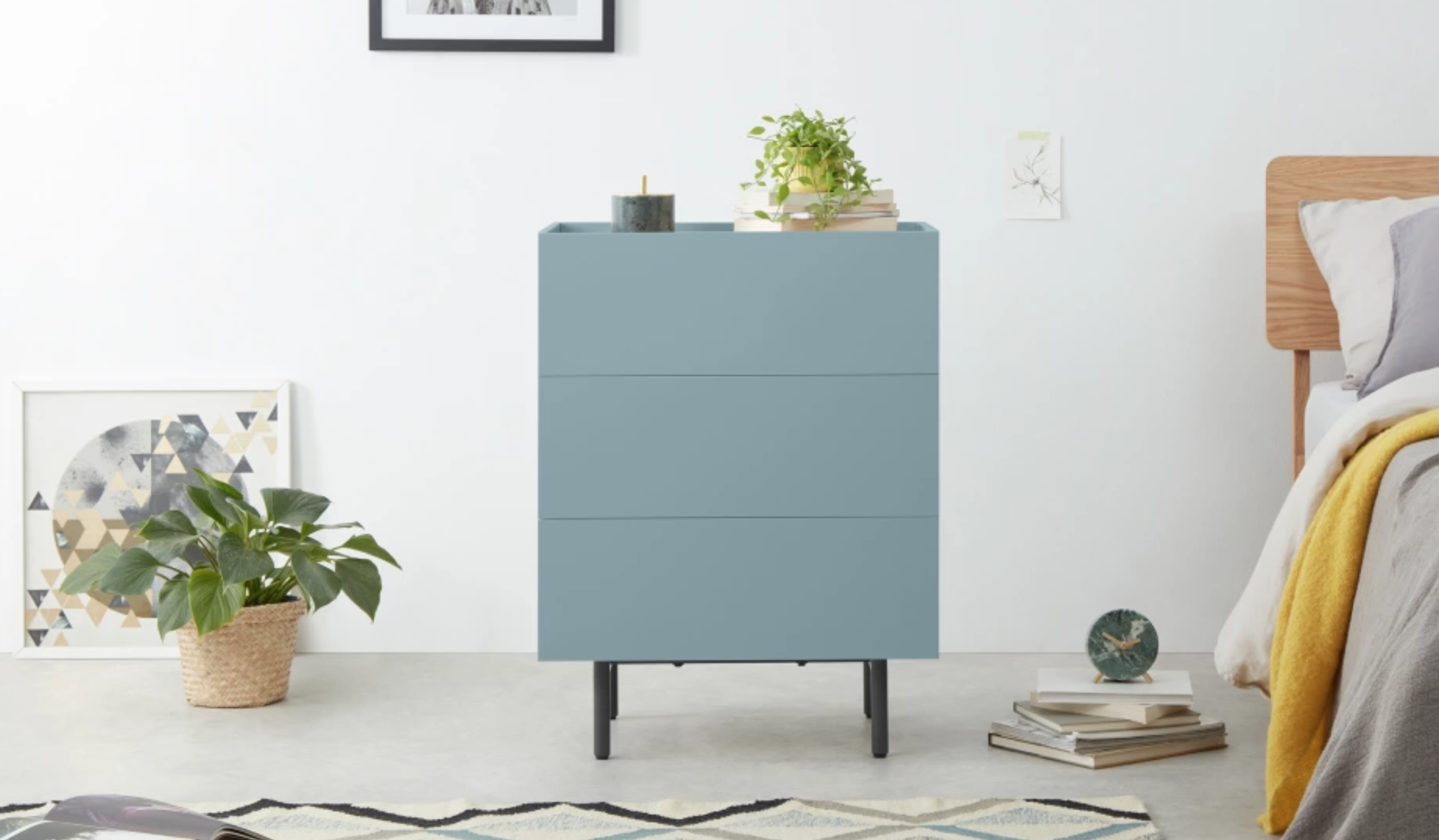 2.  MADE :  Mino , chest of drawers