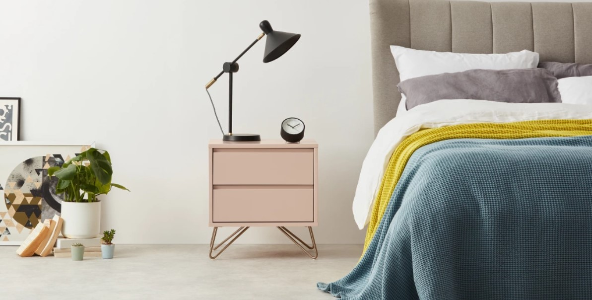 2.  MADE :  Elona , Bedside Table
