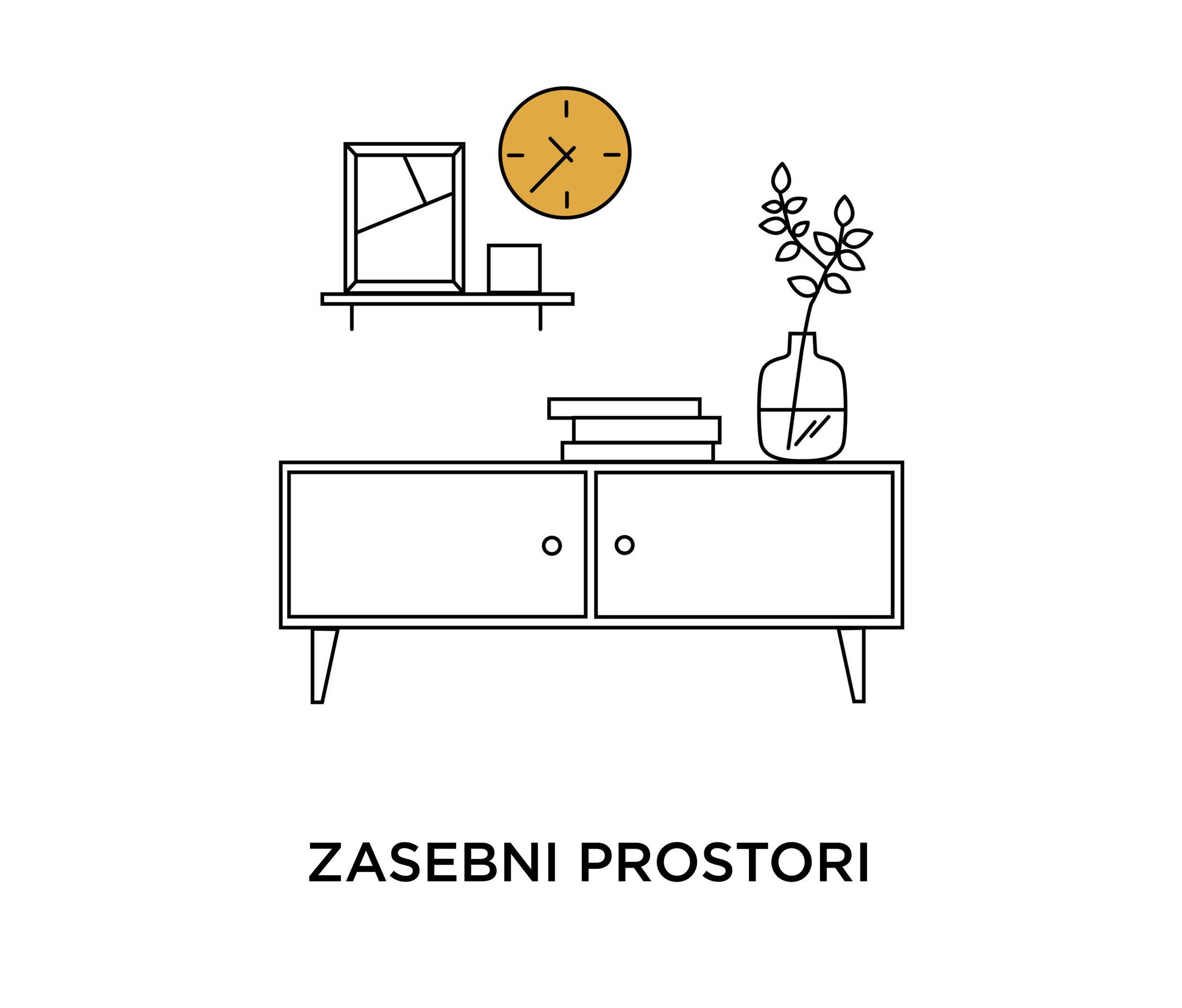 Zasebni interier - Prenova in idejna zasnova zasebnih prostorov, kot so kuhinje, dnevne sobe, spalnice, otroške sobe …