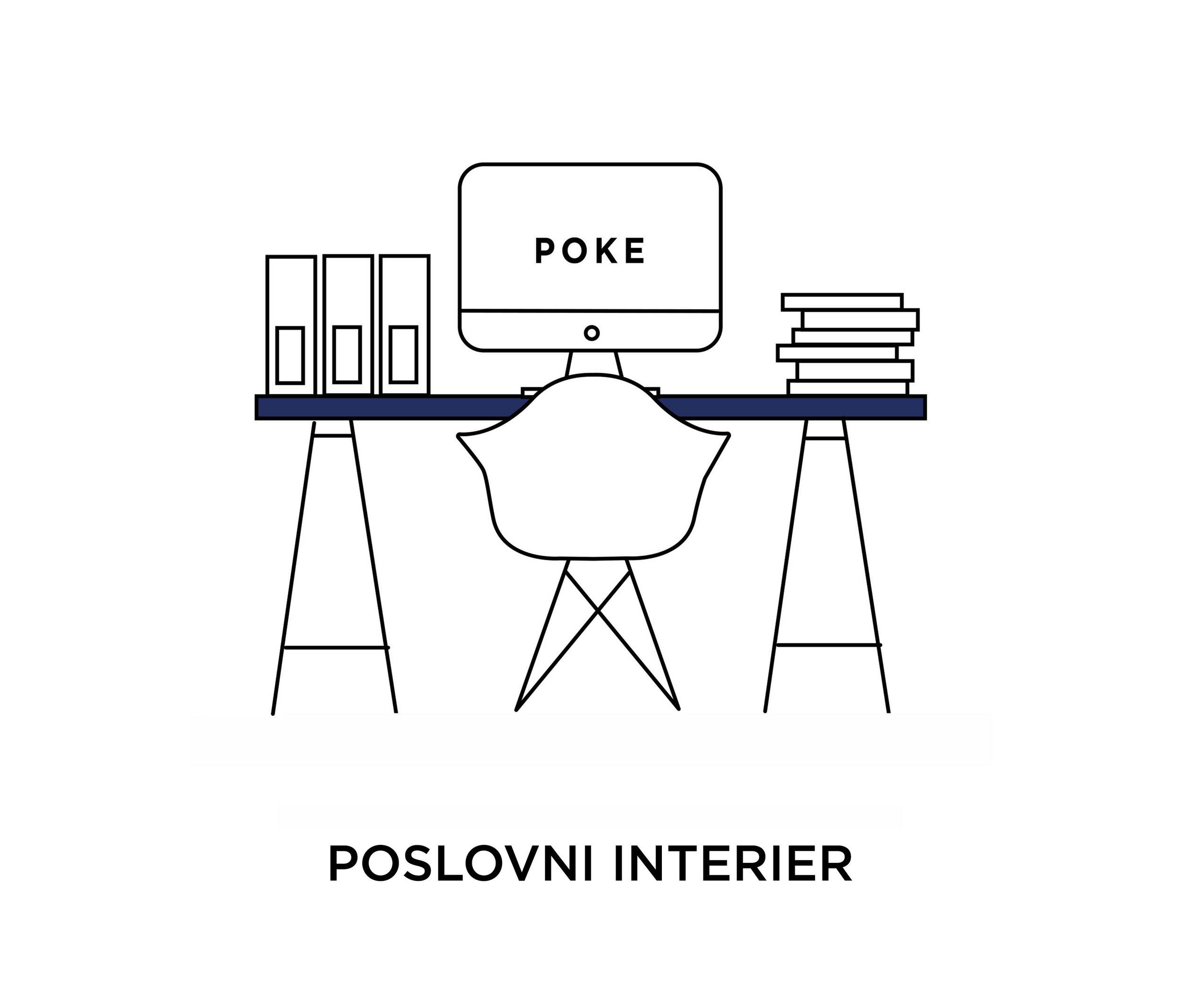 Poslovni interier - Zasnova pisarn in drugih poslovnih objektov.