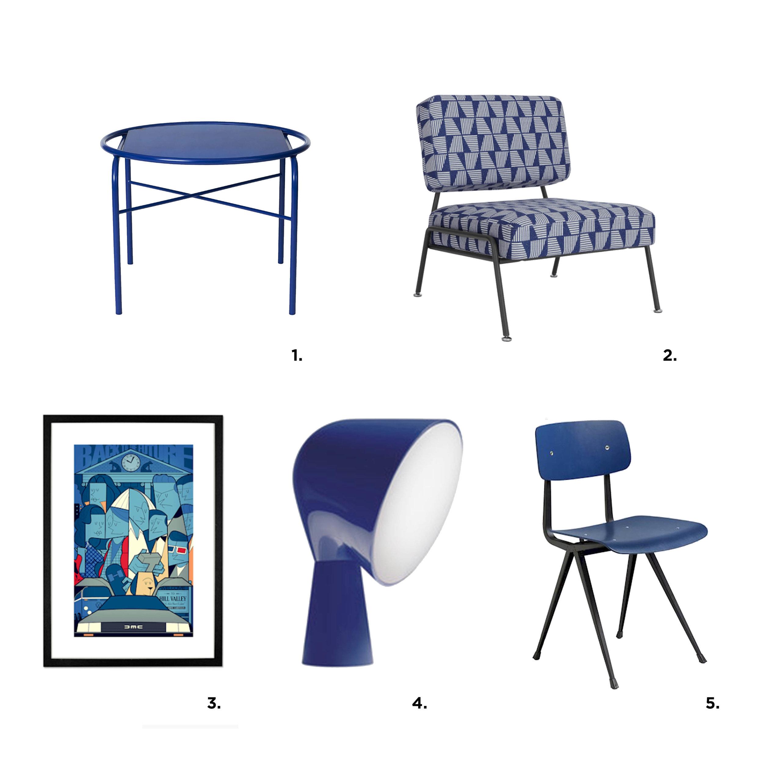 Poke studio, notranje oblikovanje, interior design, Top 5, nebulas blue