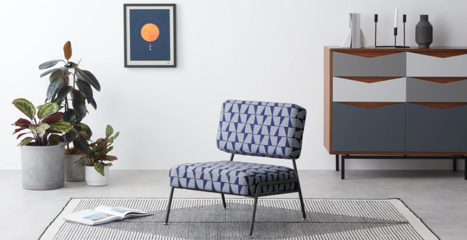 2.  MADE ,  Knox Accent Chair  by Natal Print