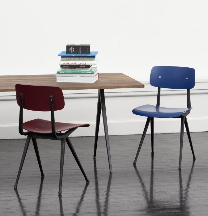 5.  HAY ,  Result chair  by Friso Kramer and Wim Rietveld