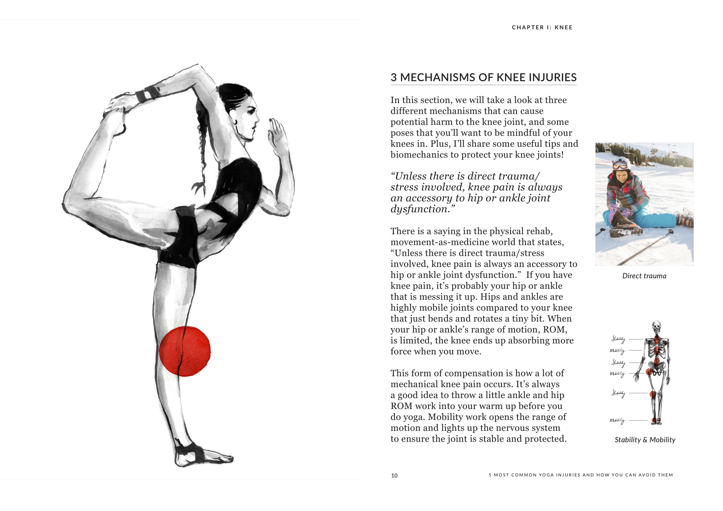 Illustration by Ksenia Sapunkova// Excerpt from the e-Book // Click here to visit Shut Up & Yoga