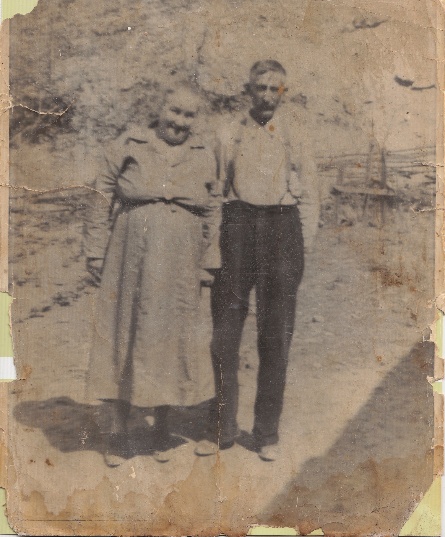Myrtle Mae (Smith) Moore & Henry Albert Moore