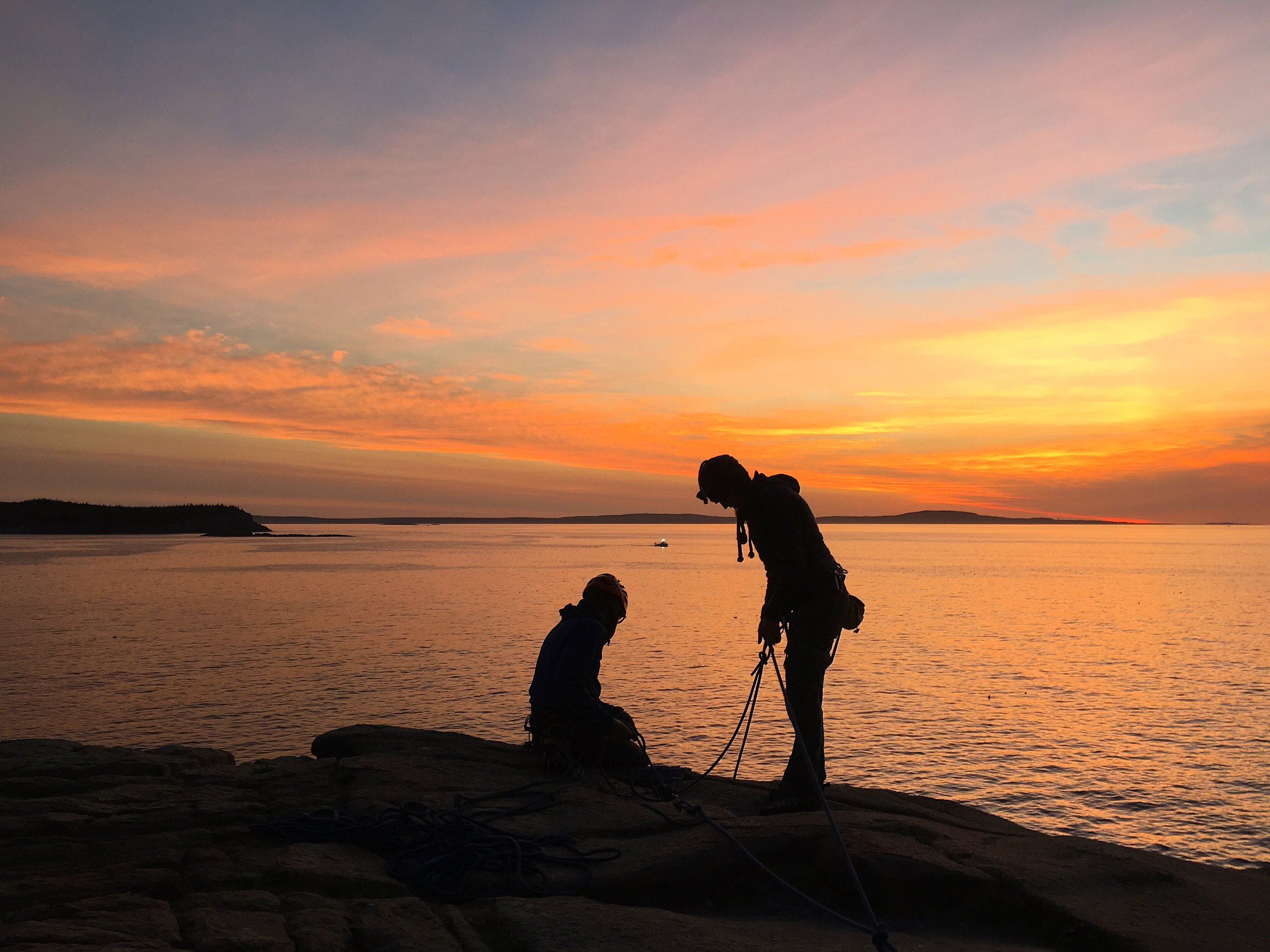 Acadia National Park Climbing