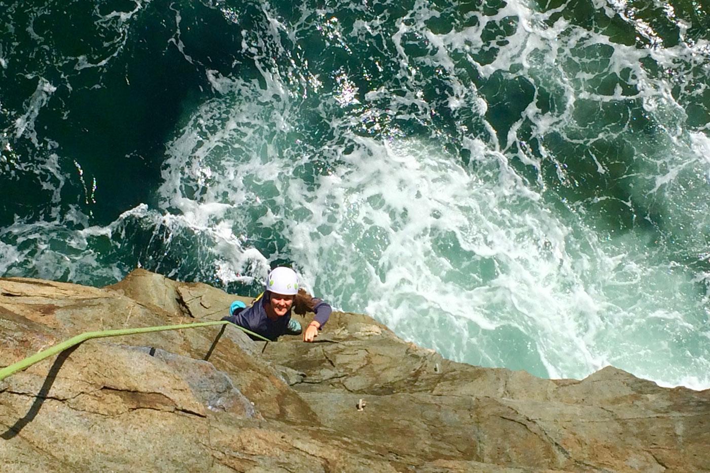 Rock Climbing Acadia National Park