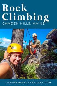 beginner rock climbing lesson