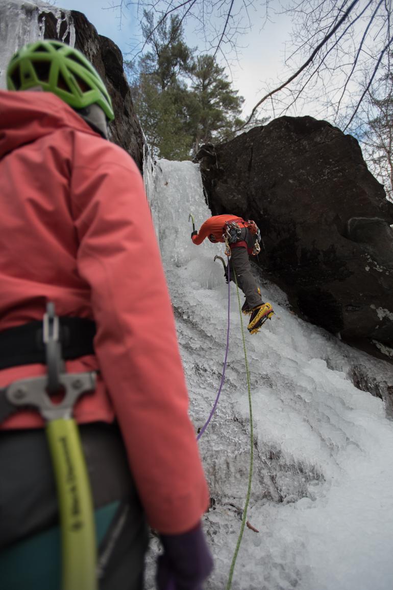 Maine Ice Climbing