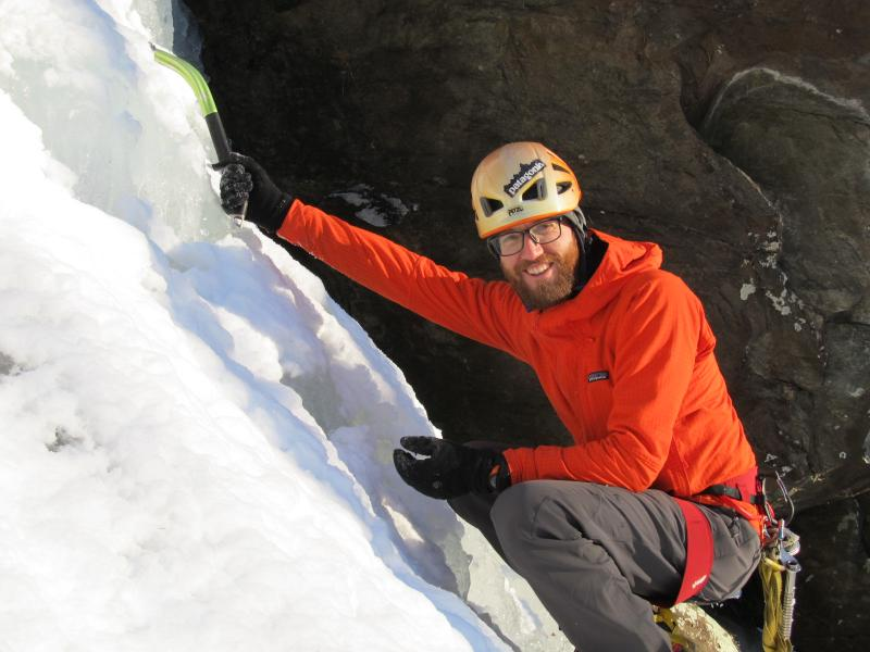 ice climbing isn't for hobbyists
