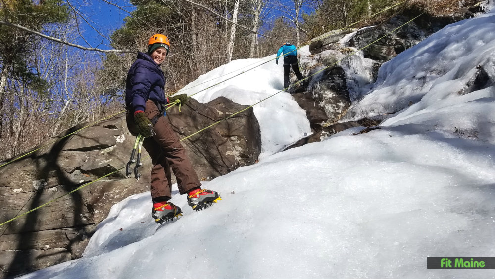 Fit Maine Ice Climbing