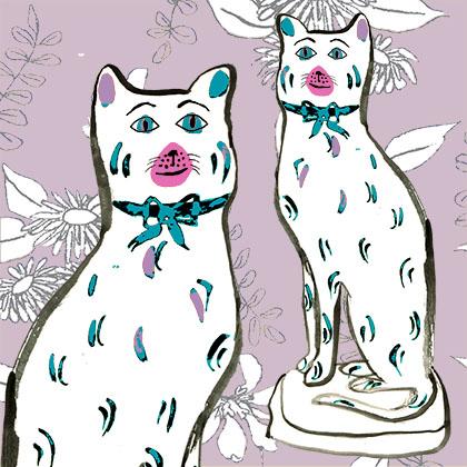 Lavender cats