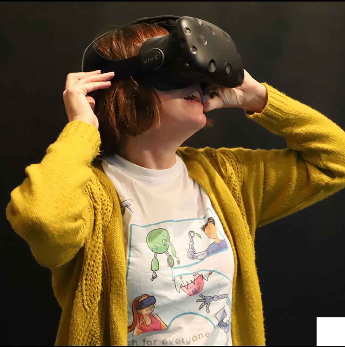 The VR CAVE @ Corsham Institute -