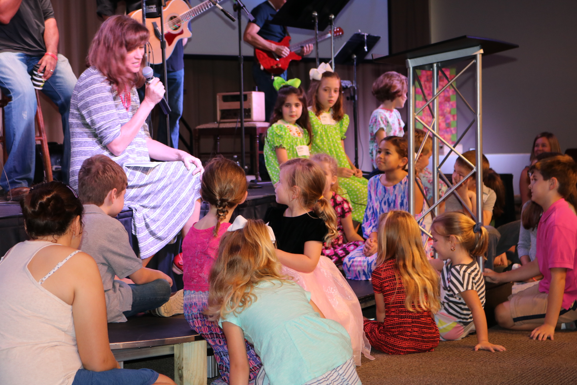 Children's Moment during the 9:00 Modern service