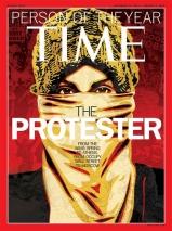 """Time Magazine har i 84 år kåret """"Årets person"""" , der redaksjonen skal velge den personen (eller gruppen eller saken/fenomenet) den synes har hatt størst innvirkning på samfunnet det siste året, på godt eller på vondt.I 2011 valgte de """"The Protester"""". Motstand og motstandere er m.a.o i skuddet, bokstavelig talt!"""
