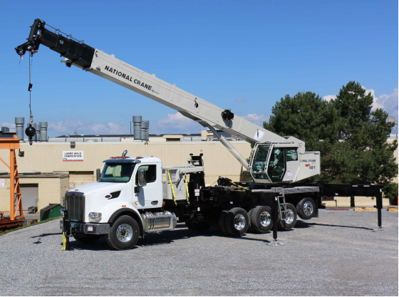 National NBT36-1 Boom Truck Is The Newest Addition To Our Rental Fleet! - Give Us A Call Today!