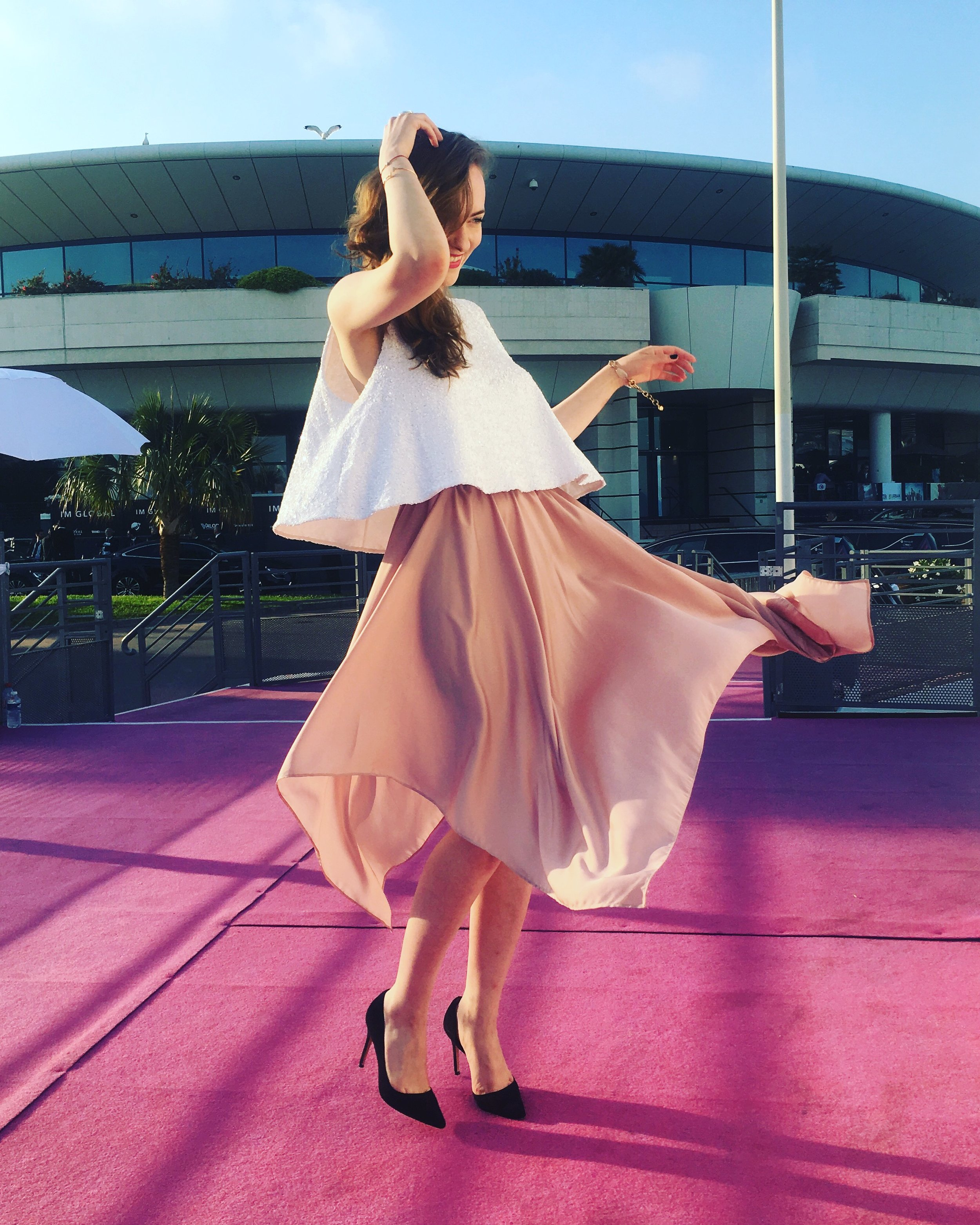 Wearing: ODIVI #ODIVIxCannes