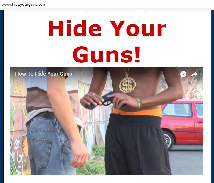 Hide Your Guns Dot Com