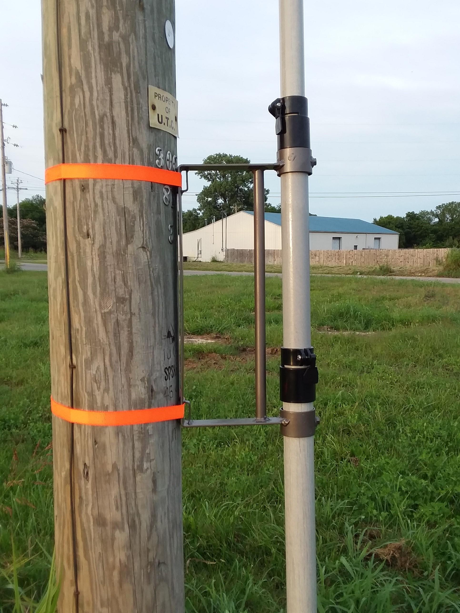Traffic Camera Pole Mount