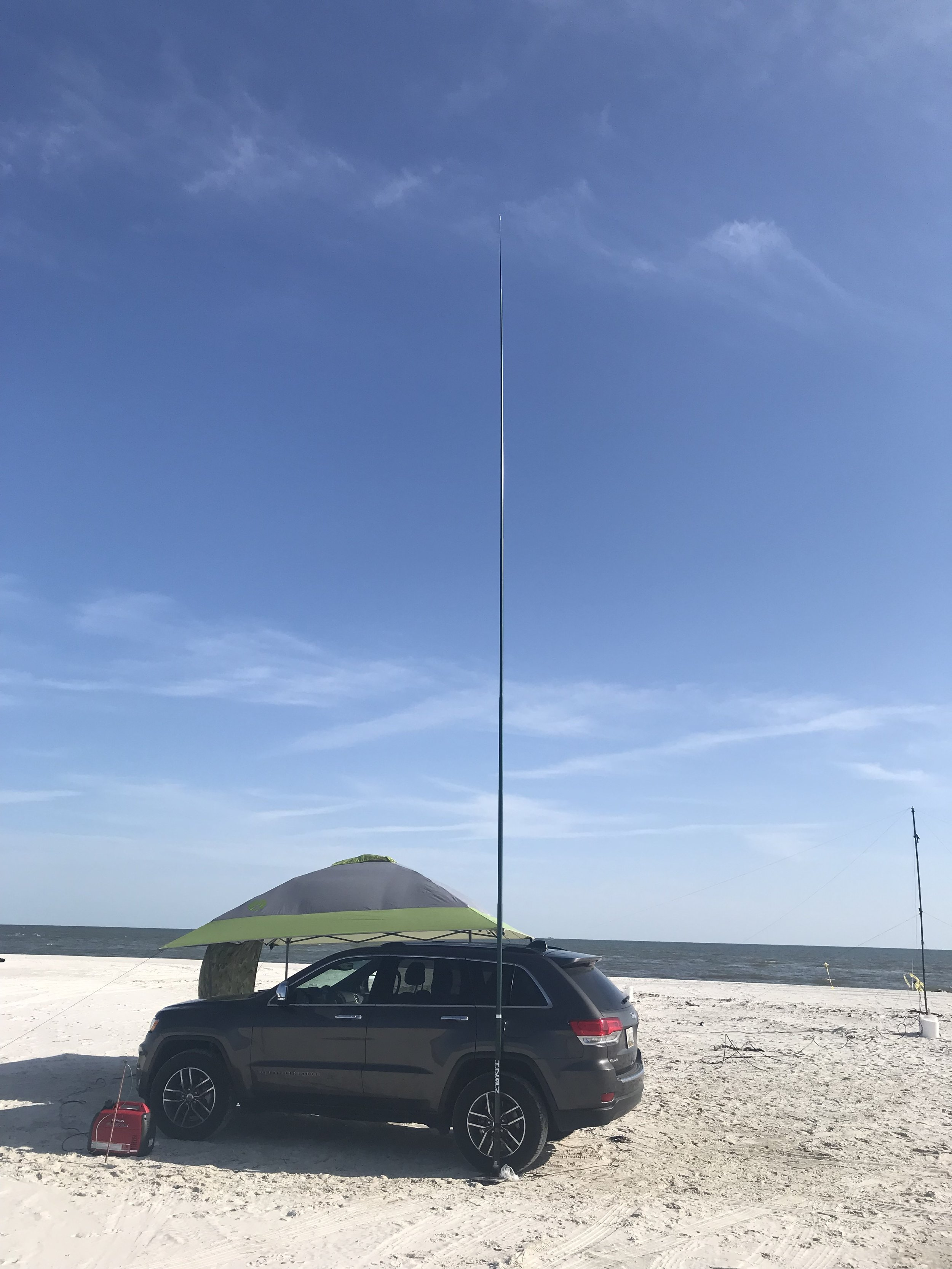SFP used in portable beach ops